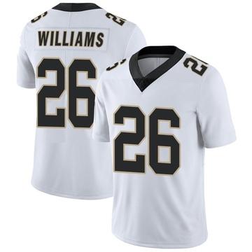 Men's P.J. Williams New Orleans Saints Nike Limited Vapor Untouchable Jersey - White