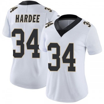Women's Justin Hardee New Orleans Saints Nike Limited Vapor Untouchable Jersey - White