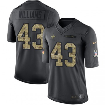 Youth Marcus Williams New Orleans Saints Nike Limited 2016 Salute to Service Jersey - Black